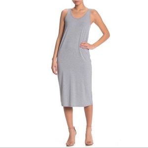 Philosophy Apparel Cap Sleeve Knit Midi Dress